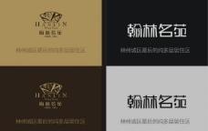 翰林名苑logo 房地产标志图片