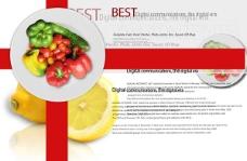 蔬菜水果宣传页宣传单海报