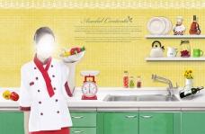 美食宣传页宣传单海报