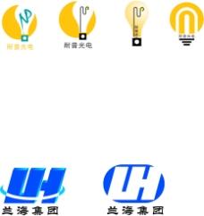 光电企业logo设计图片