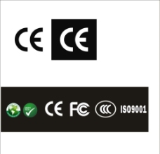 CE FCC 矢量图图片