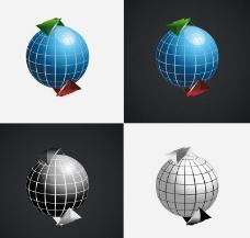 地球矢量图图片