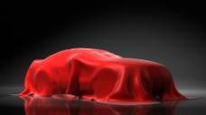 丝绸遮盖汽车图片