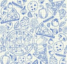 比萨饼矢量素材图片