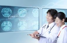 科技医疗宣传页宣传单海报