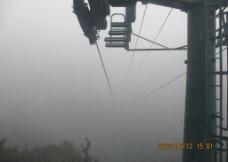 梵净山缆车摄影图片
