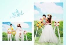最新影楼婚纱照样册图片