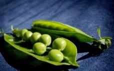 翠绿的豌豆