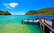 唯美高清蓝色海域