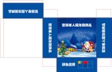 圣诞老人盒子图片