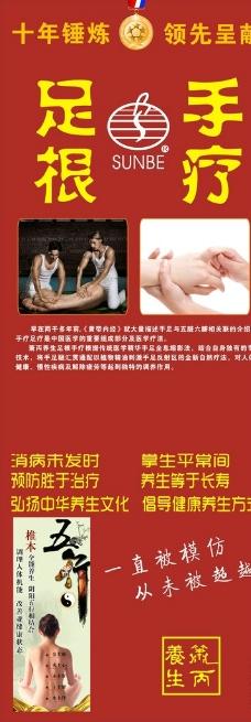 足根手疗图片