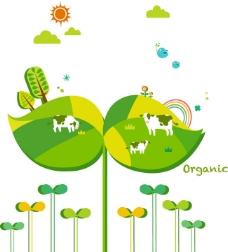 绿色环保矢量素材80