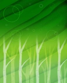 绿色背景素材 卡通手绘画图片
