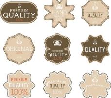 品质标签图片