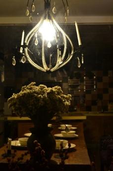 雅致灯光餐厅图片