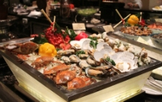 自助餐海鲜区图片