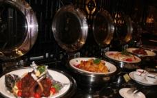 西餐热菜区图片