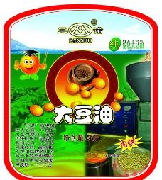豆油商标图片