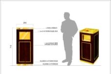垃圾桶 垃圾桶标识图片