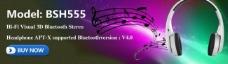 耳机网站banner图片