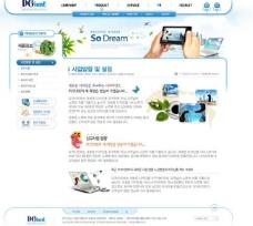 企业网站 韩国网站图片