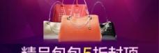 天猫双十一购物狂欢节宣传 精品包包图片