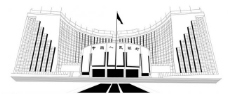 中国人民银行线描图片