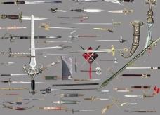 剑分层图片