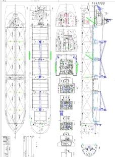 船舶工程图图片