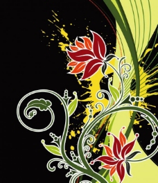花纹 花图片