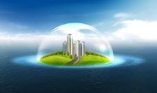 天空之城JPG背景图片