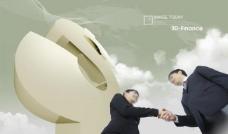 商务金融人士合作素材图片