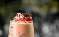 冰皇家奶茶 草莓口味图片