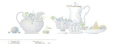 水果茶壶花片图片