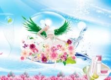 花仙子背景素材图