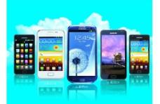 三星智能手机图片
