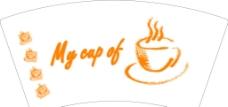咖啡纸杯图片