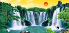 风景 流水生财 流水图片