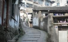 农村 山区 建筑小路图片