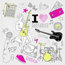 音乐的涂鸦