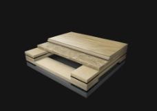 三维木材图片