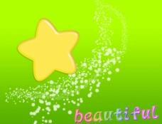梦幻背景 浪漫星星图片