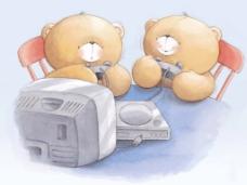 位图 插画 插画 动物 卡通风格 免费素材