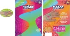 纹身卡通展板图片