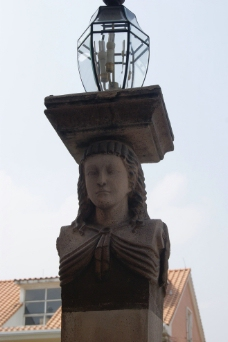 酒店雕塑图片