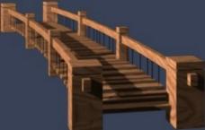 小桥模型图片