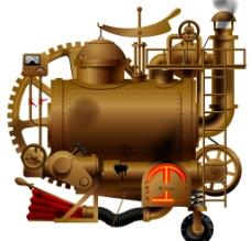 老式蒸汽机图片
