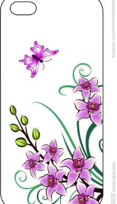 手机壳 花草图片