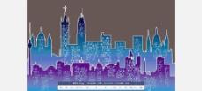 城市 天际线图片