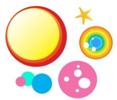 圆圈 素材图片